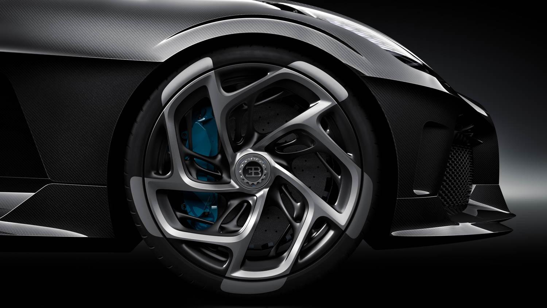 """Bugatti """"La Voiture Noire"""" wheel detail"""