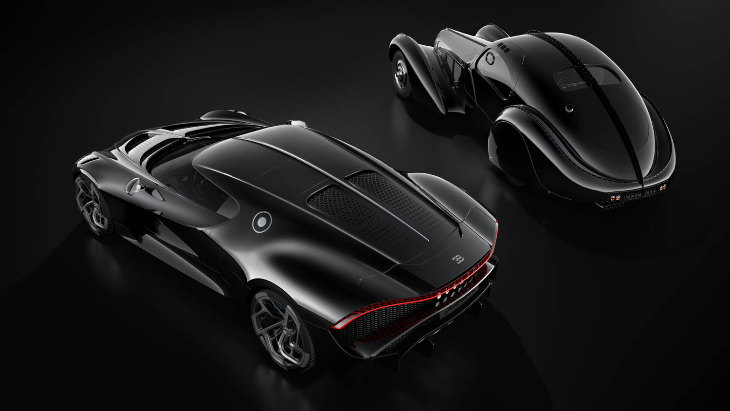 The Bugatti La Voiture Noire Has The Nicest Rear End In: Bugatti's Tribute To The Type 57SC Atlantic Costs A