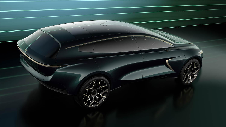 Aston Martin Lagonda All-Terrain Concept rear 3/4