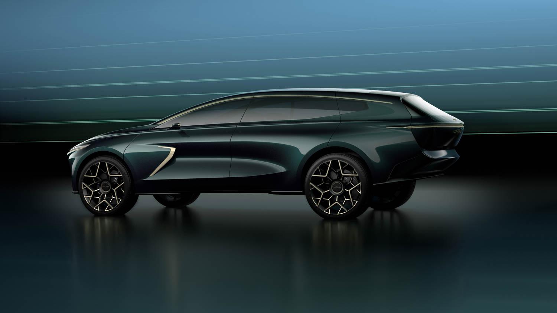 Aston Martin Lagonda All-Terrain Concept side profile
