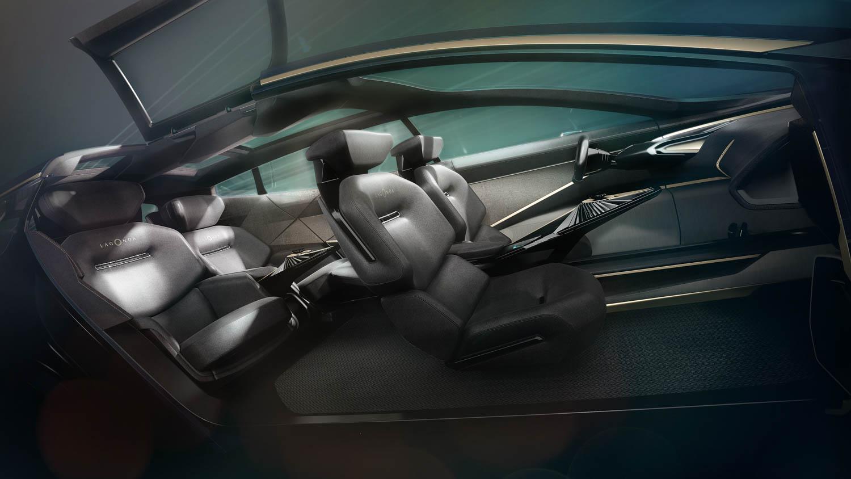 Aston Martin Lagonda All-Terrain Concept interior