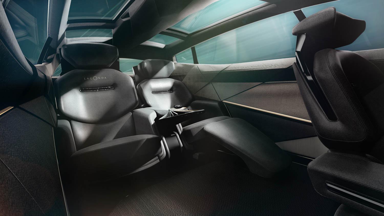 Aston Martin Lagonda All-Terrain Concept back seat