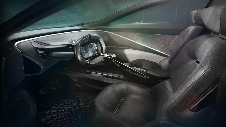 Aston Martin Lagonda All-Terrain Concept driver seat