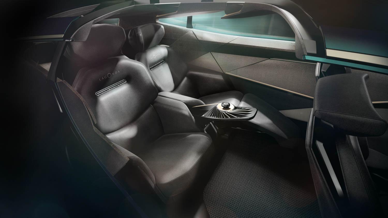 Aston Martin Lagonda All-Terrain Concept rear seats