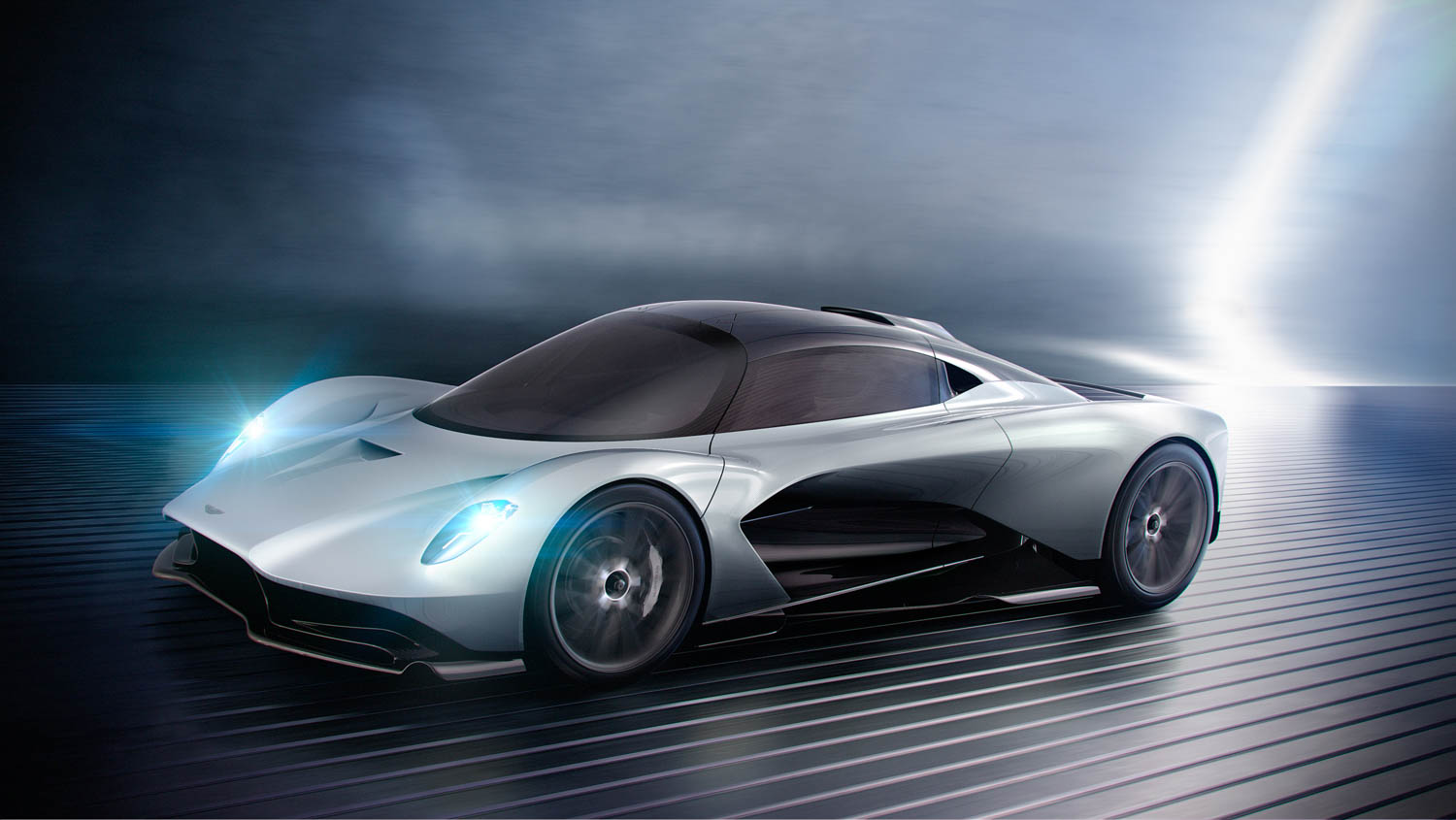 Aston Martin Project 003 front 3/4
