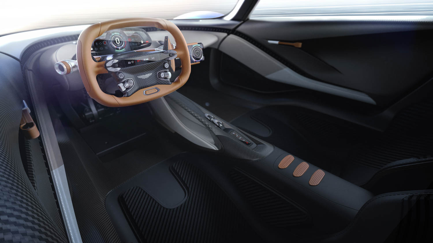 Aston Martin Project 003 cockpit