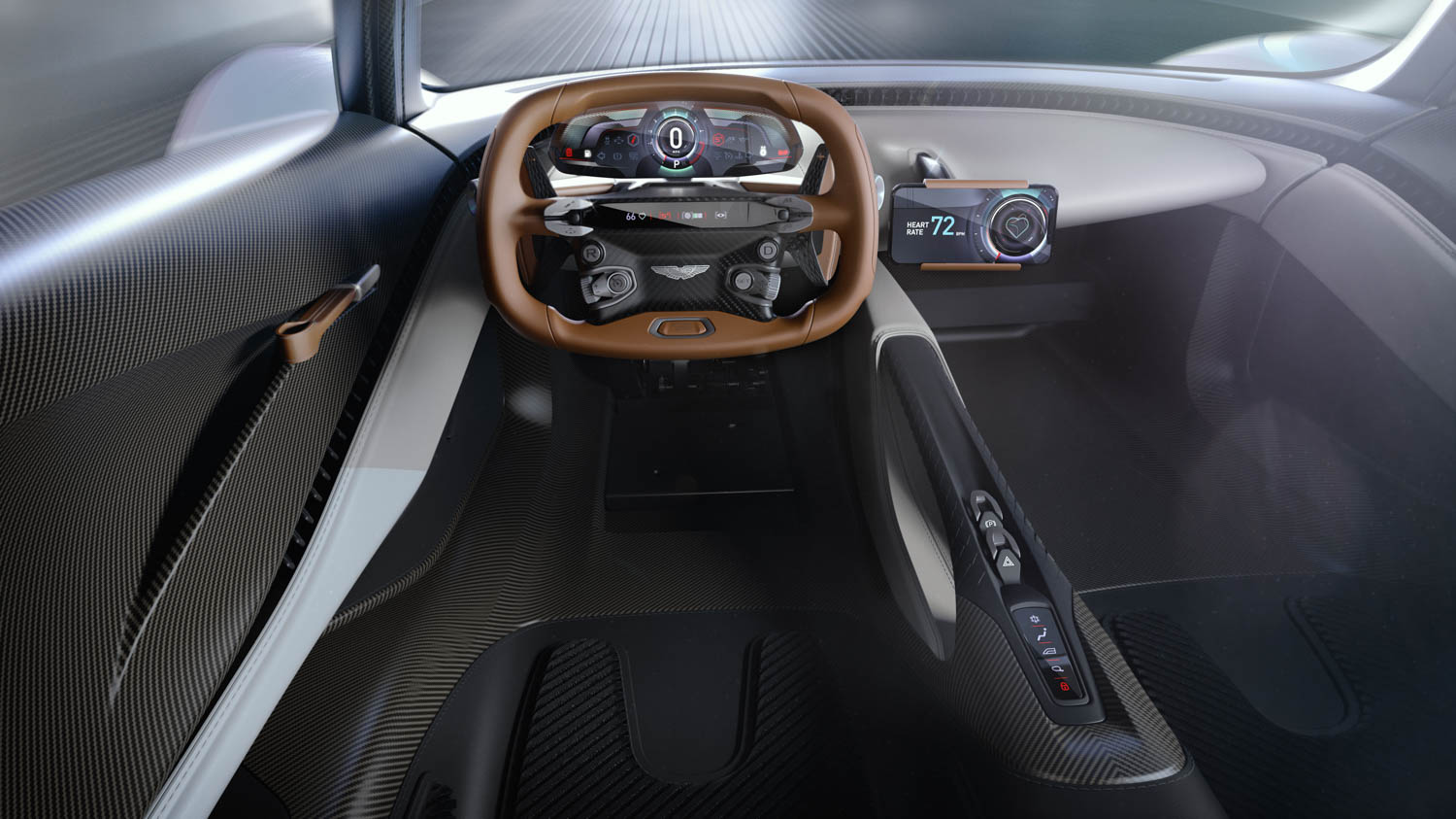 Aston Martin Project 003 steering wheel