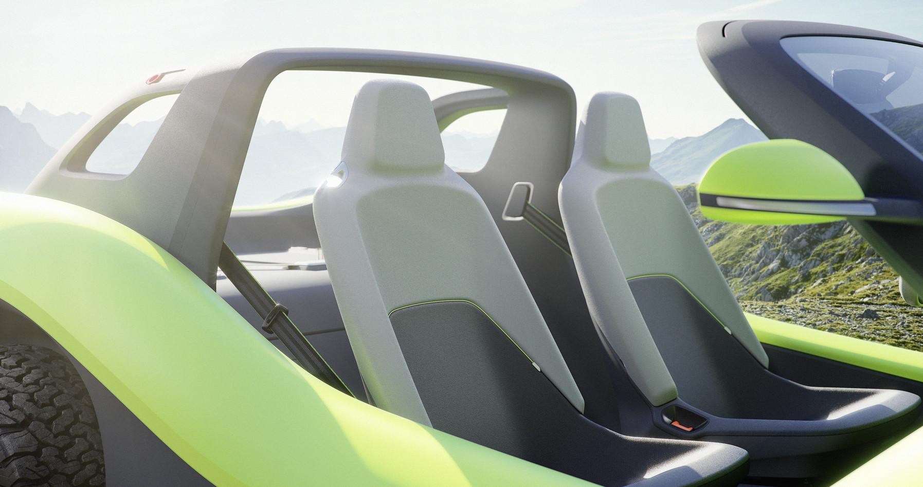 Volkswagen I.D. Buggy seat details