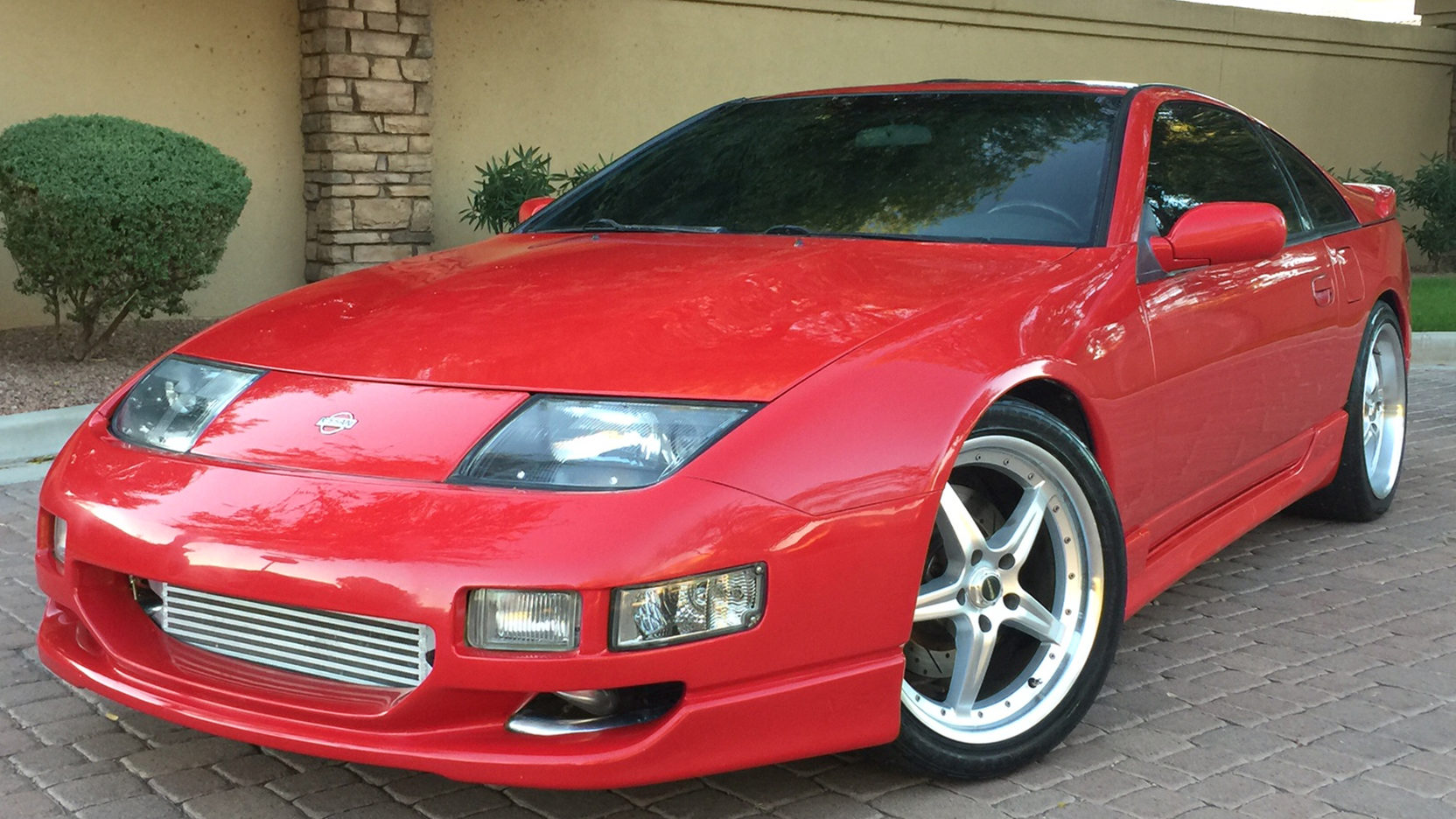 1991 Nissan 300ZX low front 3/4