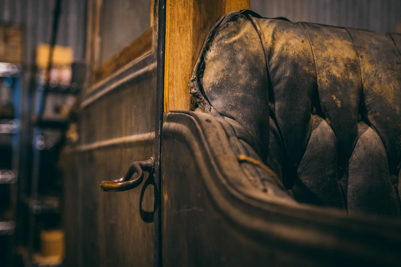 Barn find interior