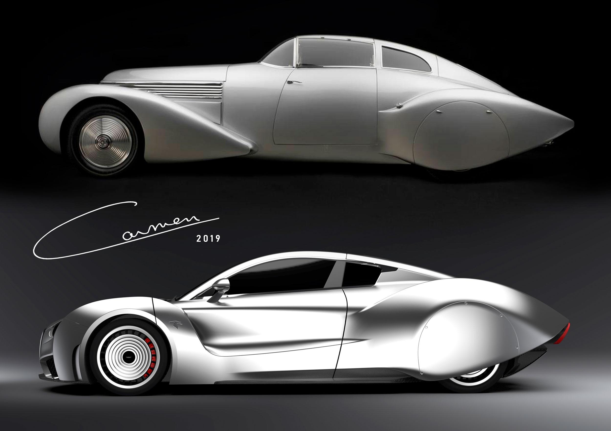 Hispano-Suiza Carmen classic and new