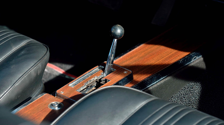 1967 Pontiac GTO dual-gate Hurst shifter