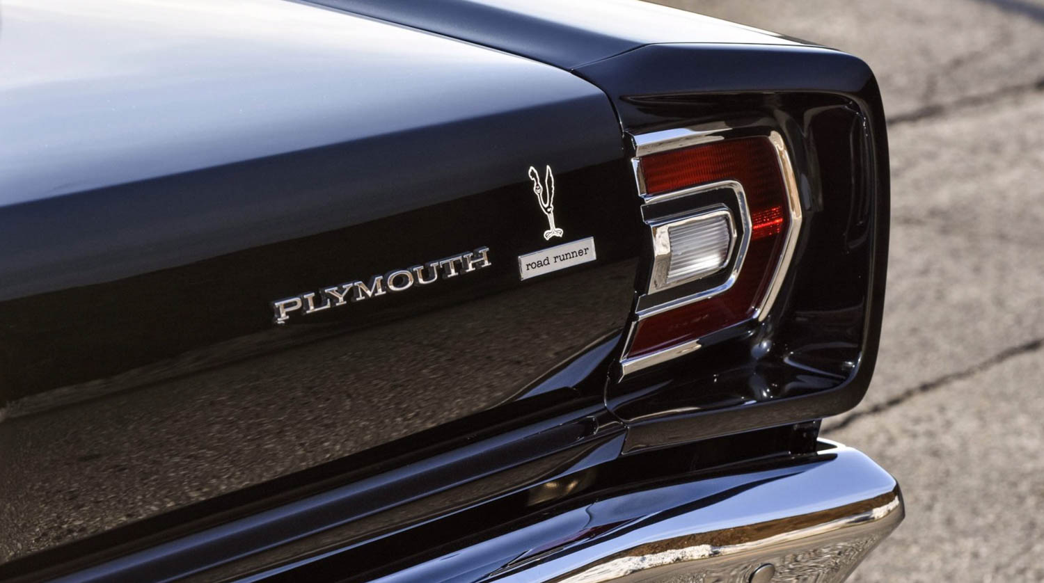 1968 Plymouth Road Runner decal