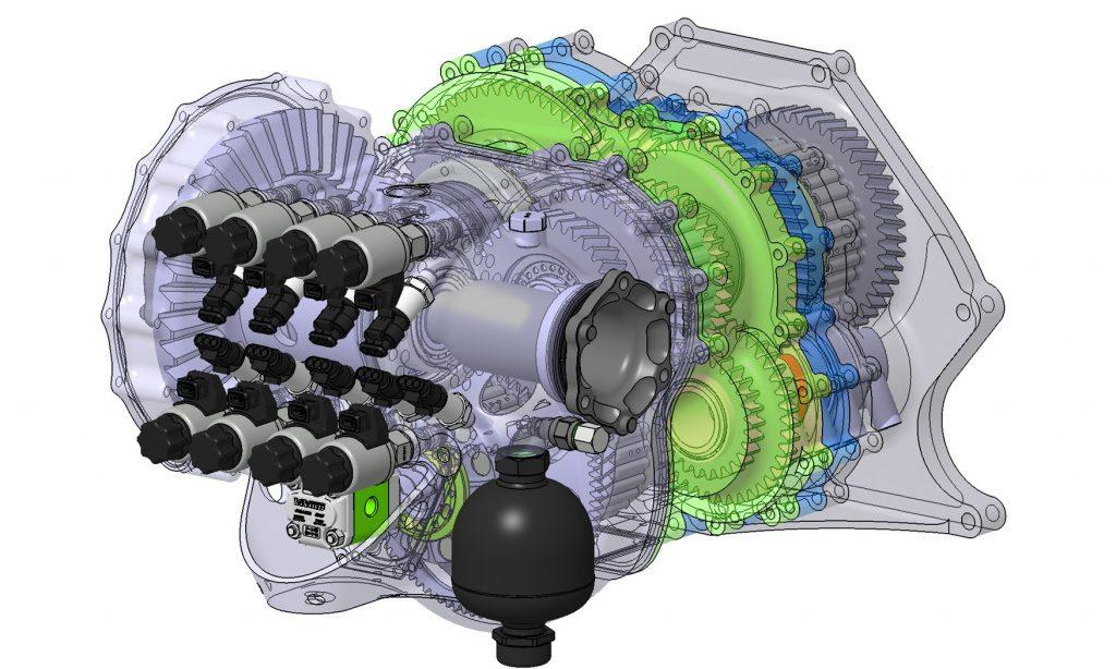 Koenigsegg Jesko engine