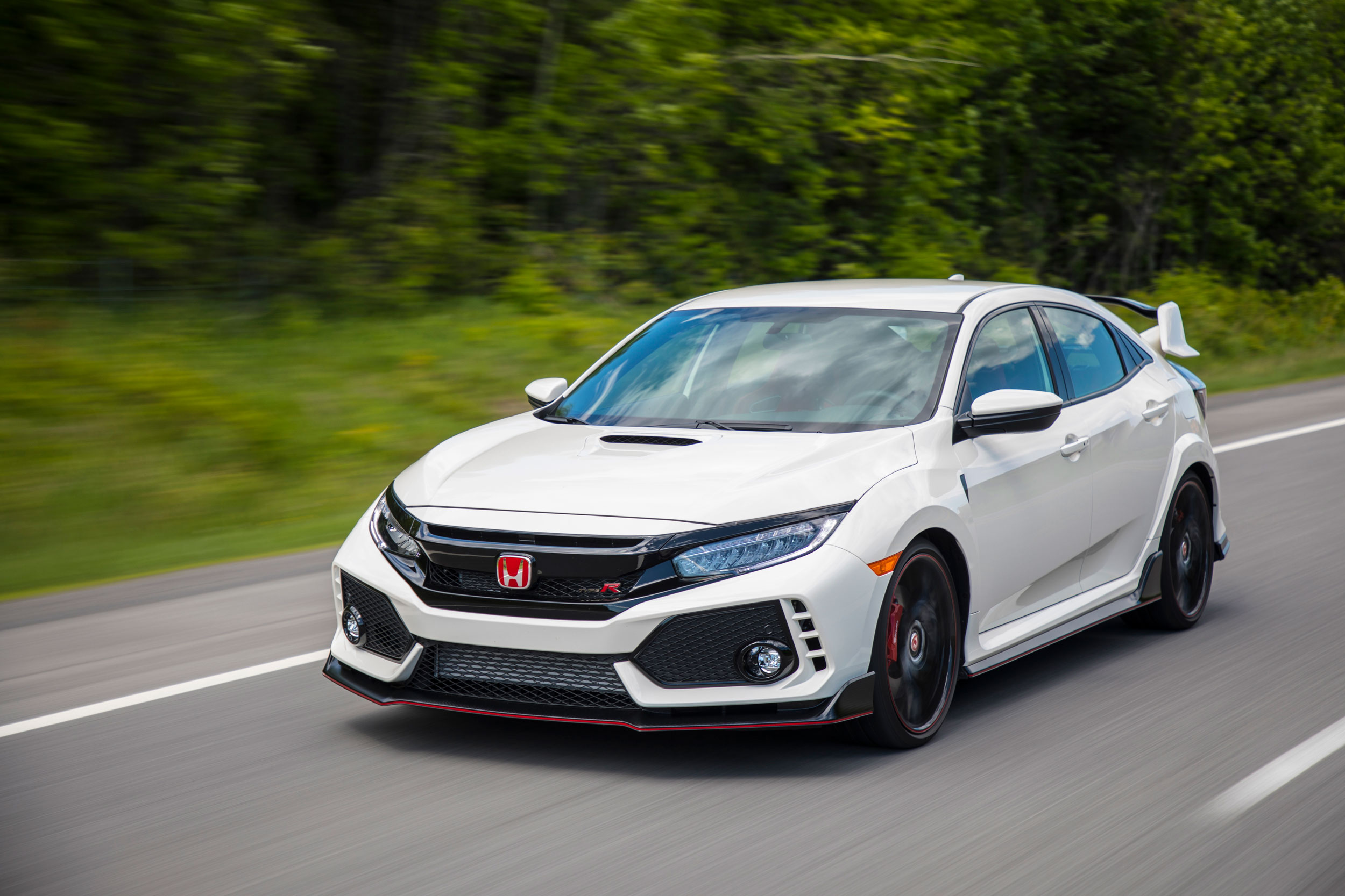 2019 Honda Civic Type-R front 3/4