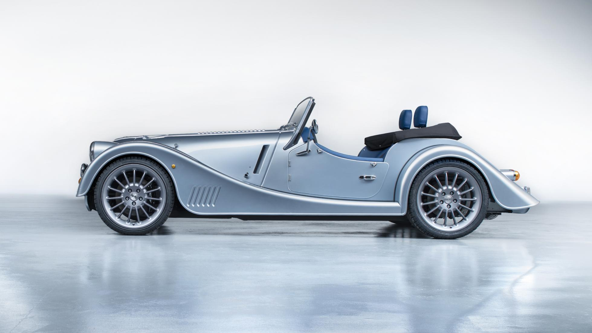 Morgan Plus Six side profile
