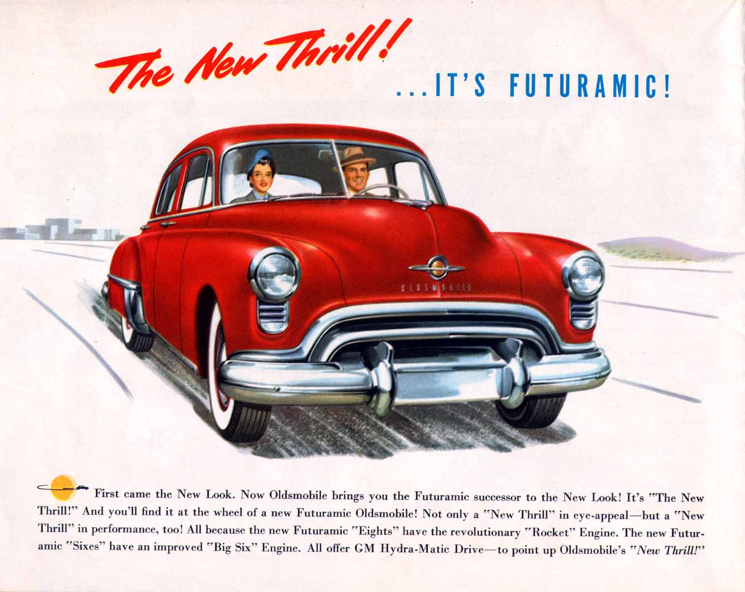 Oldsmobile advertisement