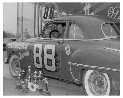 Oldsmobile 88 racing photo
