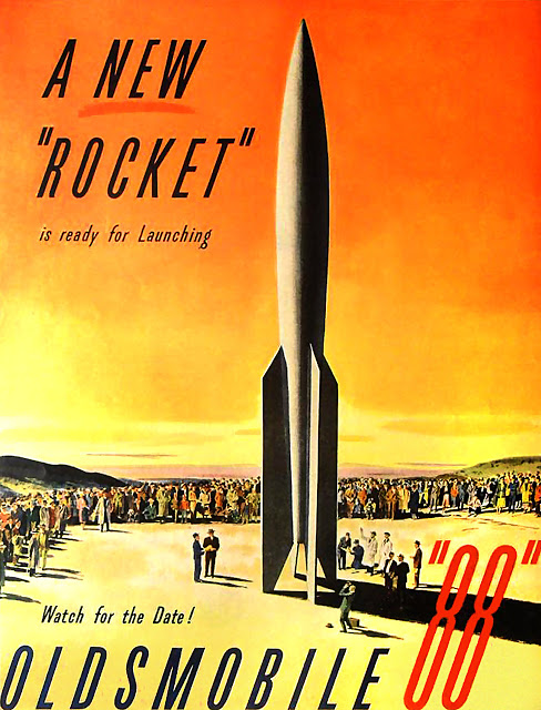 The New Rocket Oldsmobile 88 advertisement