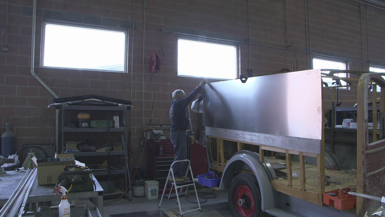 1927 Packard ambulance restoration