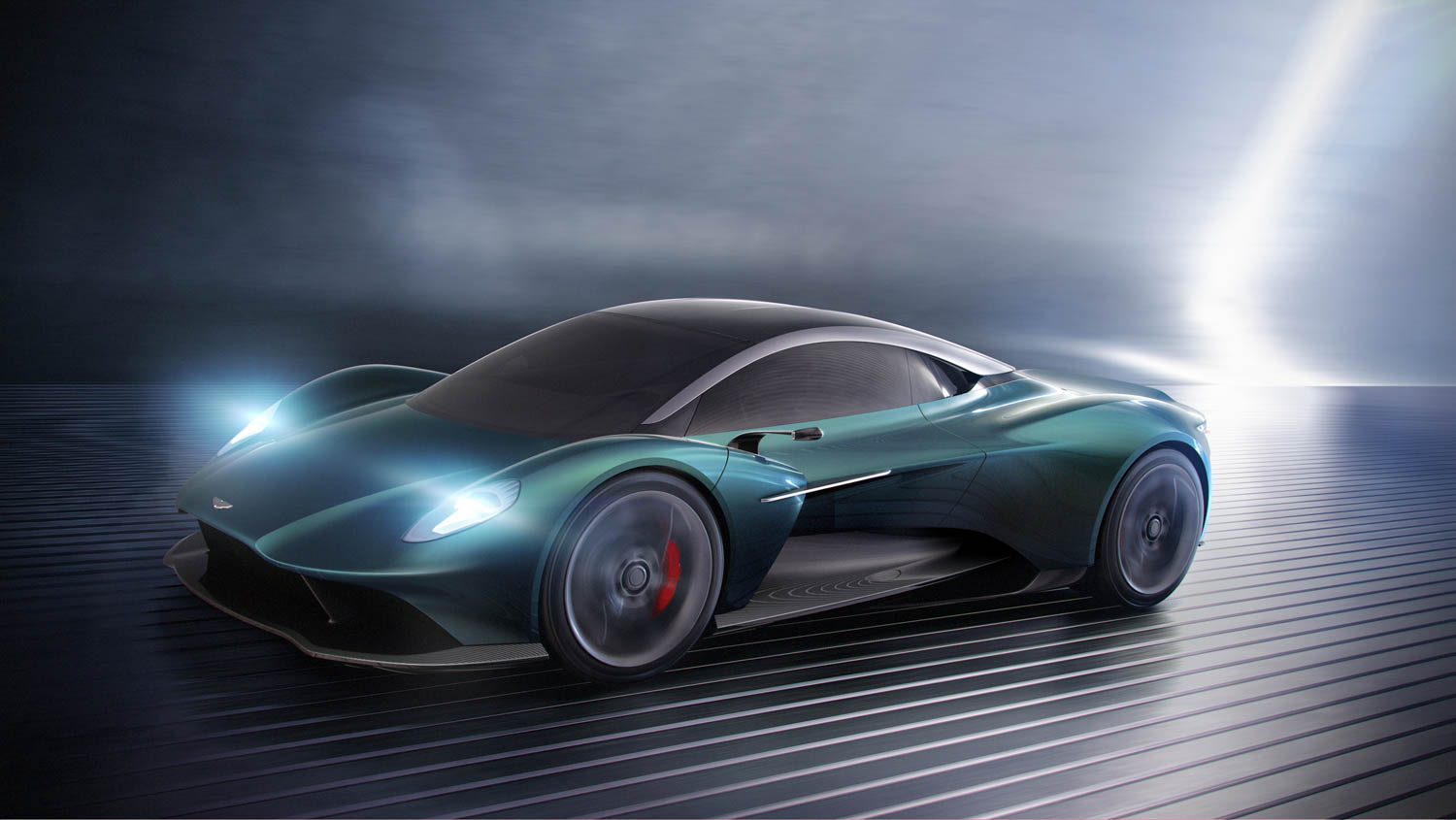 Aston Martin goes mid-engine with the next Vanquish thumbnail