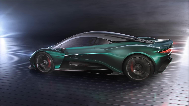 Aston Martin Vanquish Vision Concept profile
