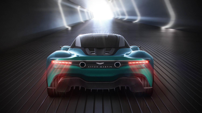 Aston Martin Vanquish Vision Concept rear