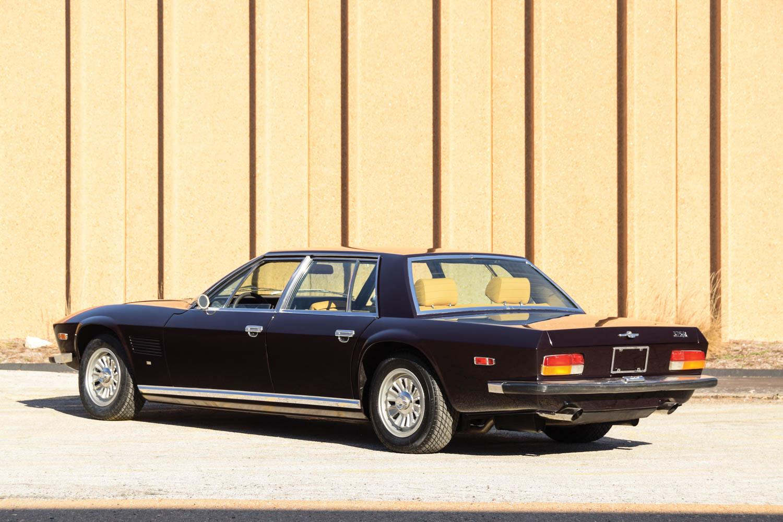 1970 Monteverdi 375/4 Sedan rear 3/4