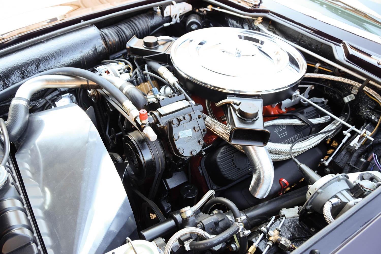 1970 Monteverdi 375/4 Sedan engine