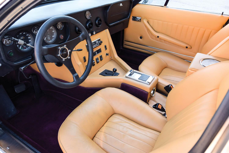 1970 Monteverdi 375/4 Sedan interior