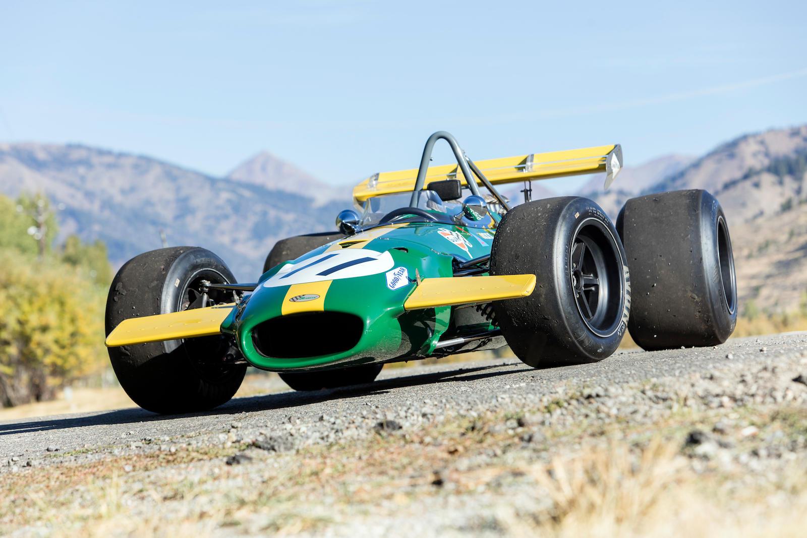 1968 Repco Brabham-Cosworth BT26 BT26A Race Car