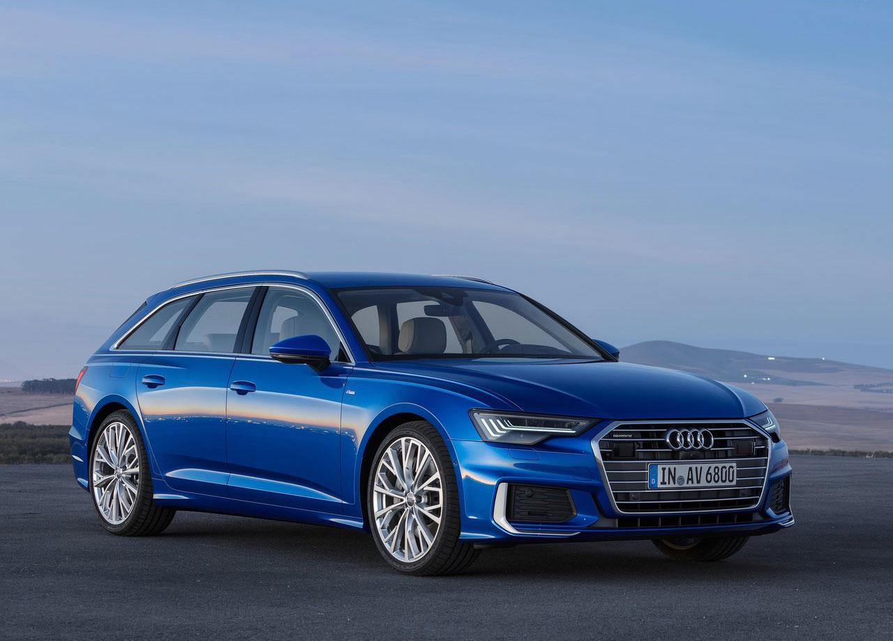 2019 Audi A6 Avant front 3/4