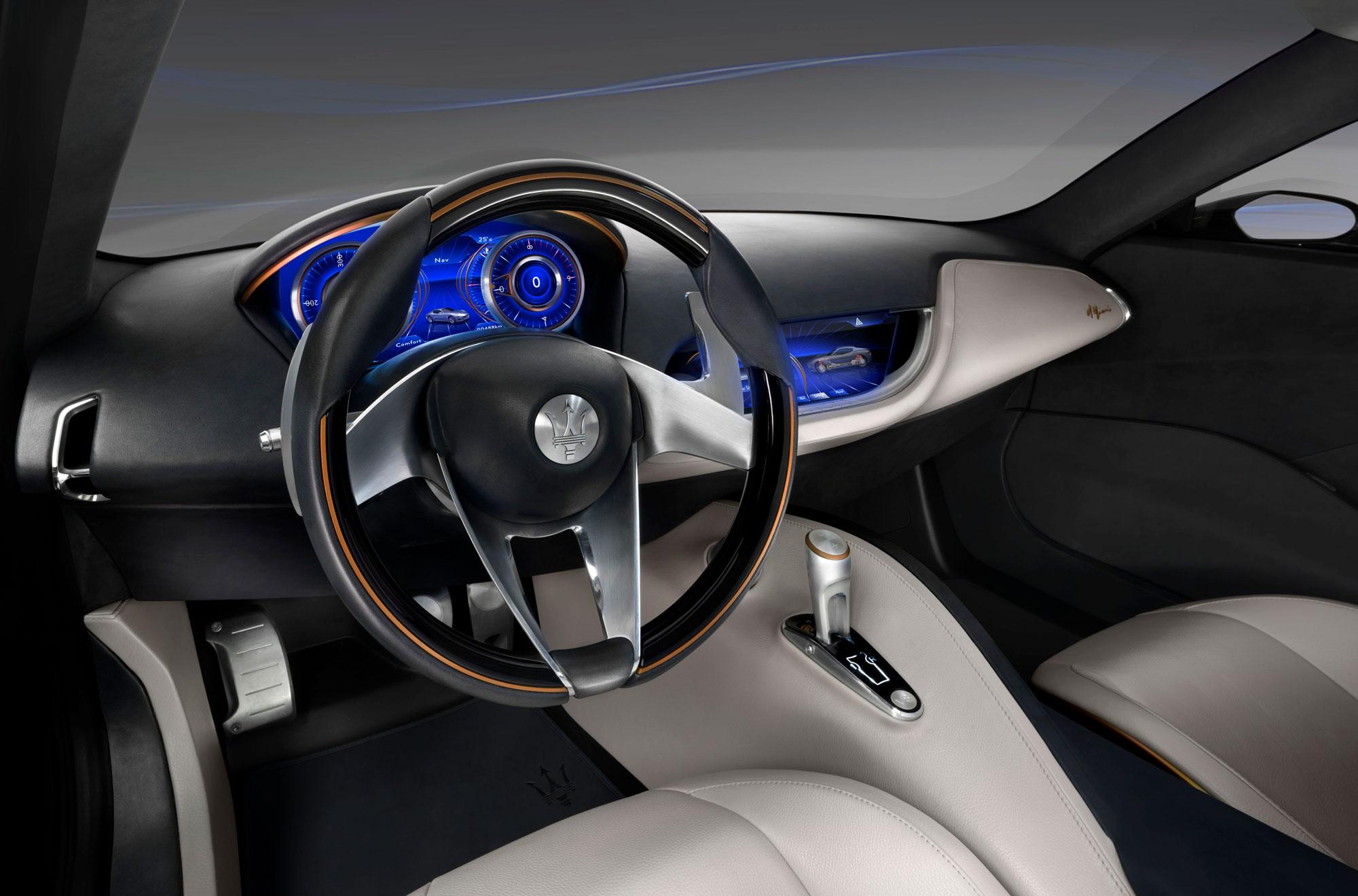 Maserati Alfieri interior