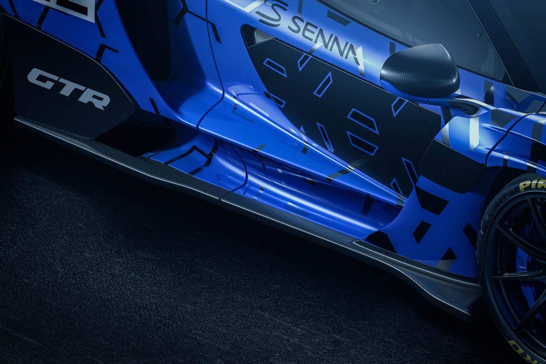 McLaren Senna GTR door
