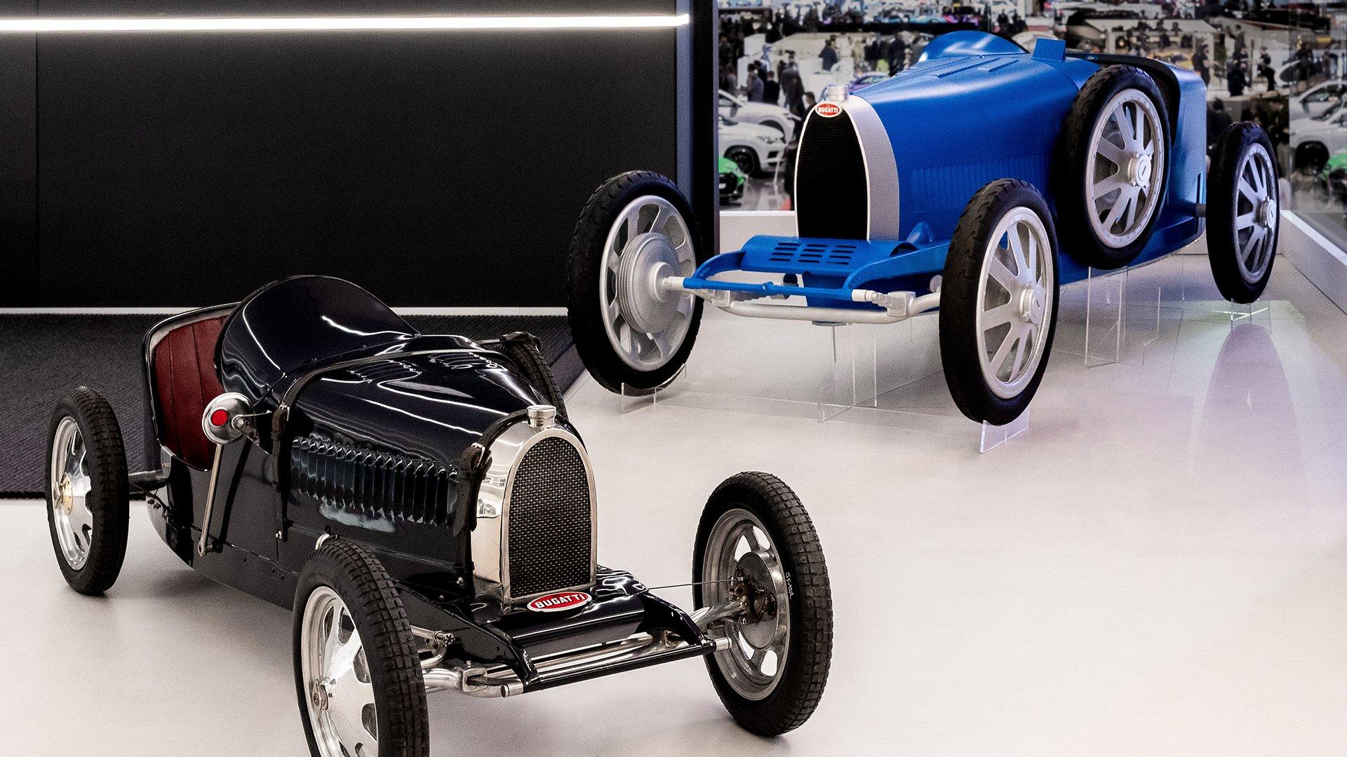 Bugatti Baby II  on display at geneva