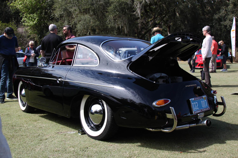 1963 Porsche 356 rear