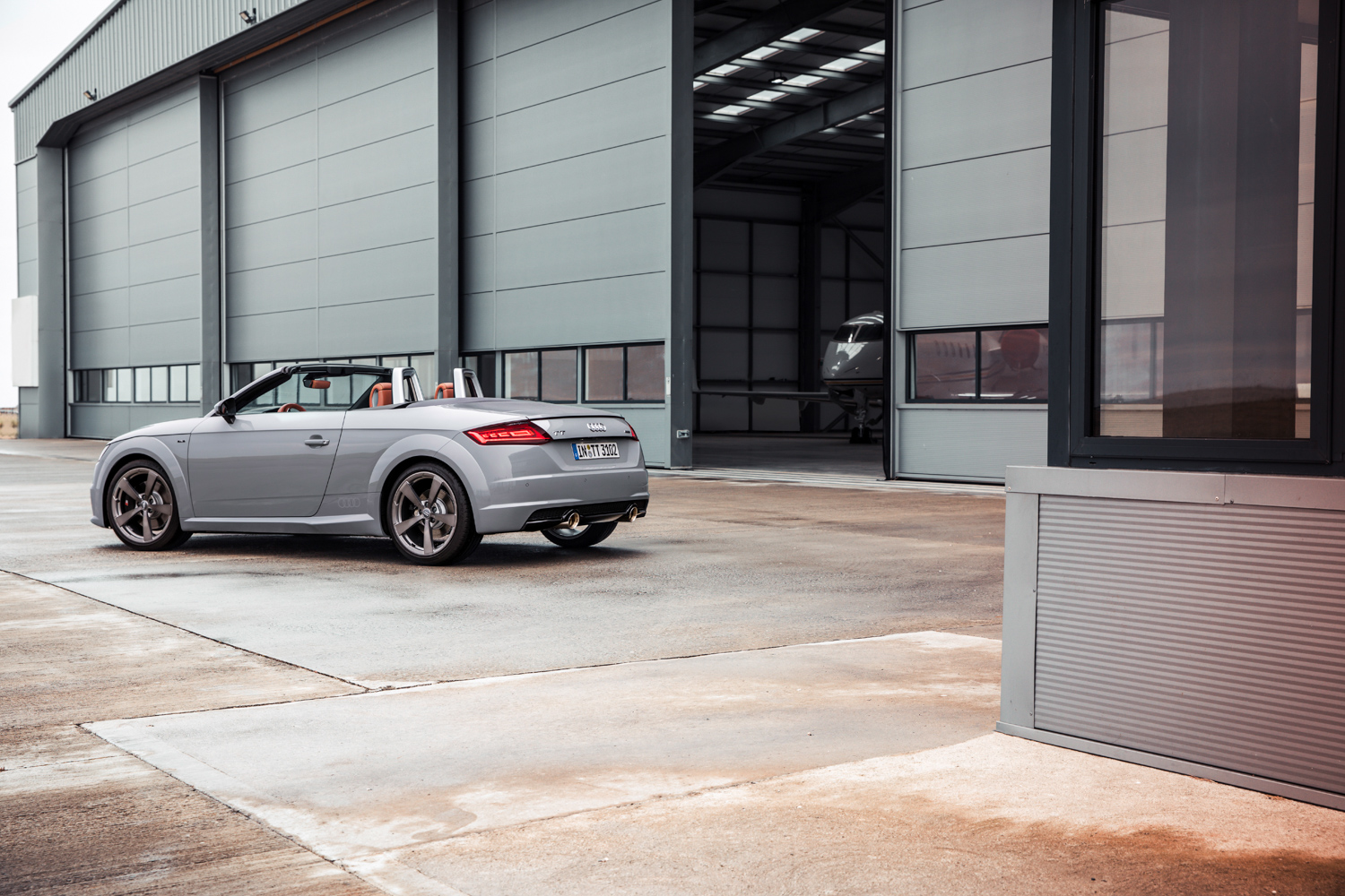2019 Audi TT 20th Anniversary Edition rear 3/4