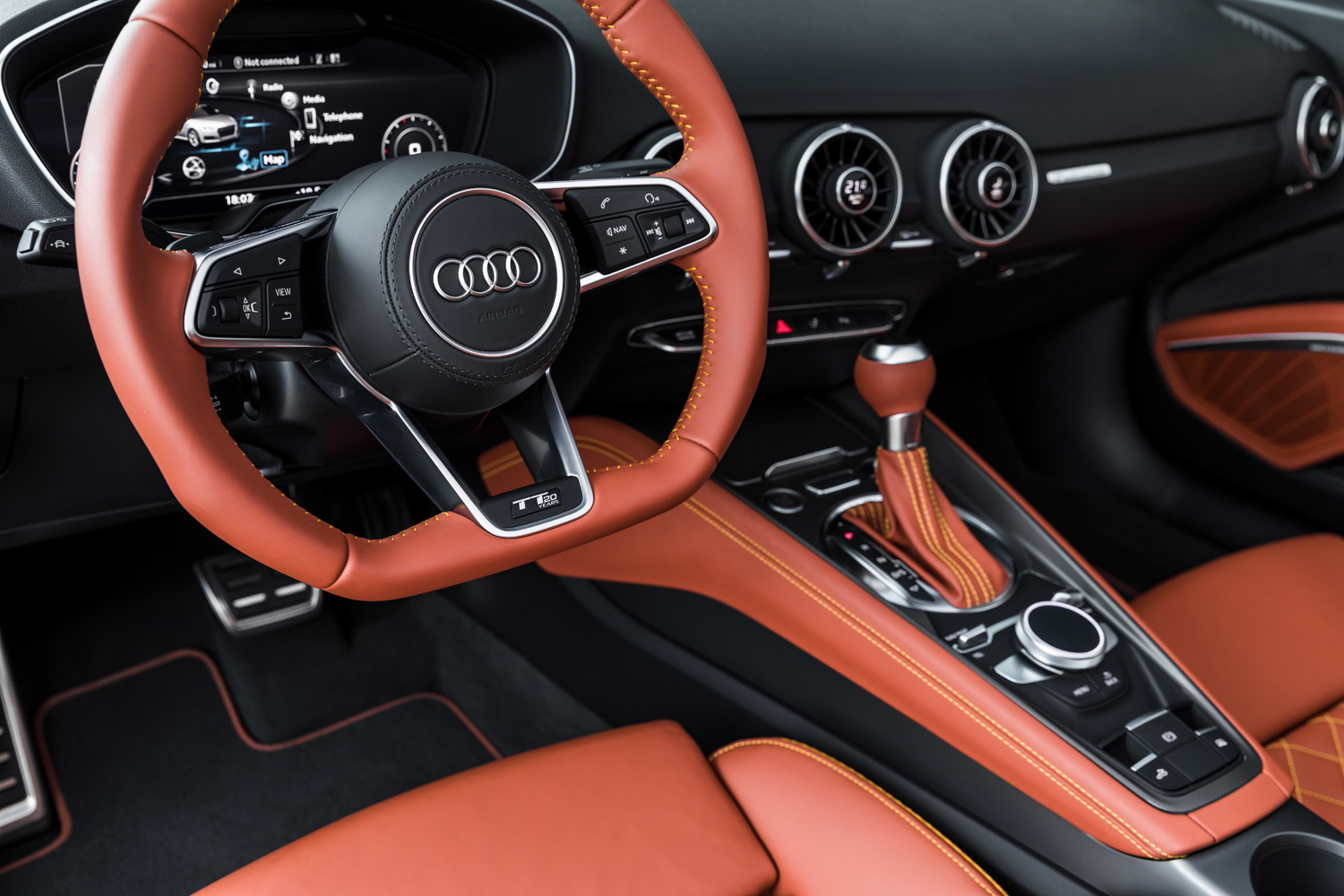 2019 Audi TT 20th Anniversary Edition interior