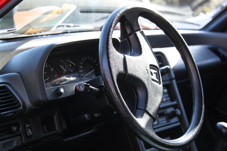 1988 Honda CRX SI steering wheel