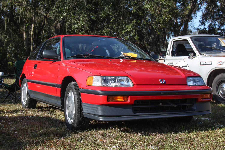 1988 Honda CRX SI 3/4 front low