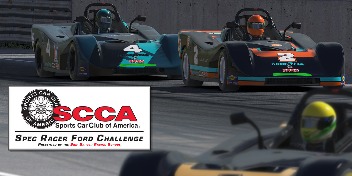 The SCCA goes virtual with a new iRacing Series
