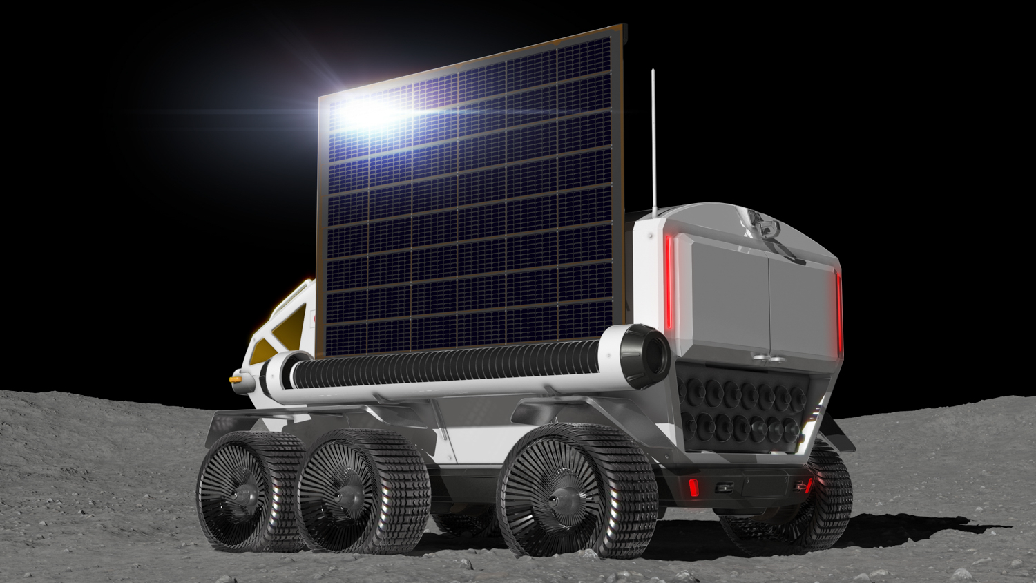 Toyota Pressurized Moon Rover concept side