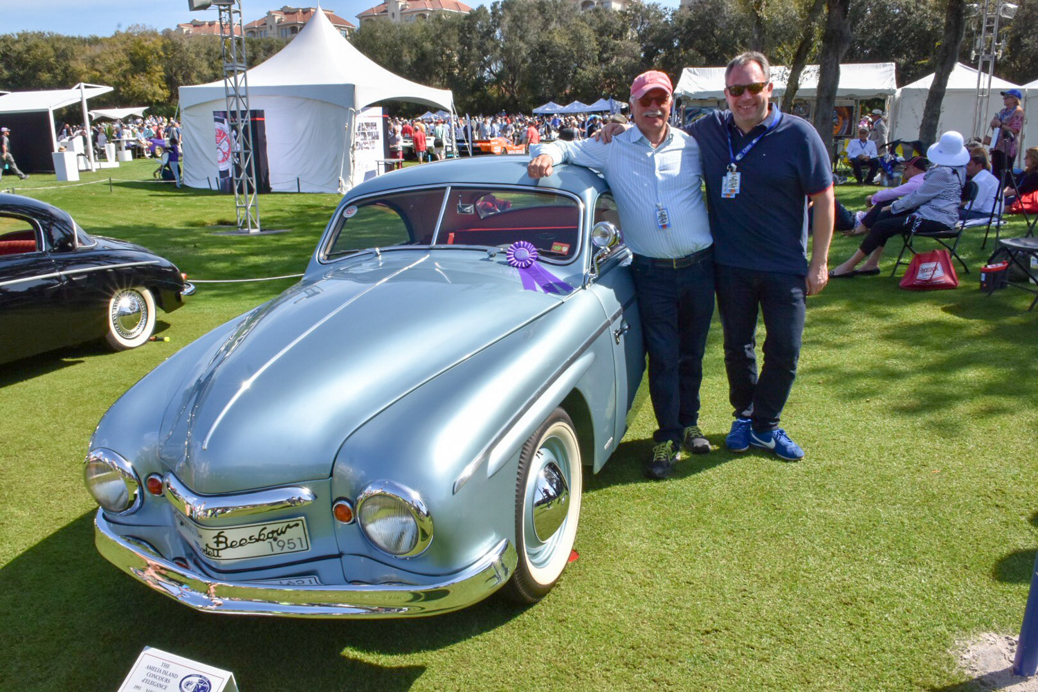 1951 Rometsch Beeskow Coupe with owner
