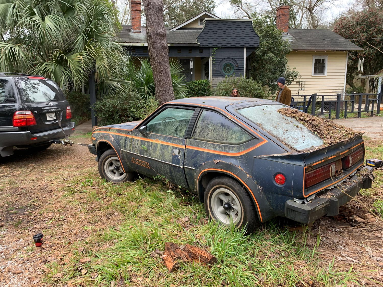 towing derelict amc amx