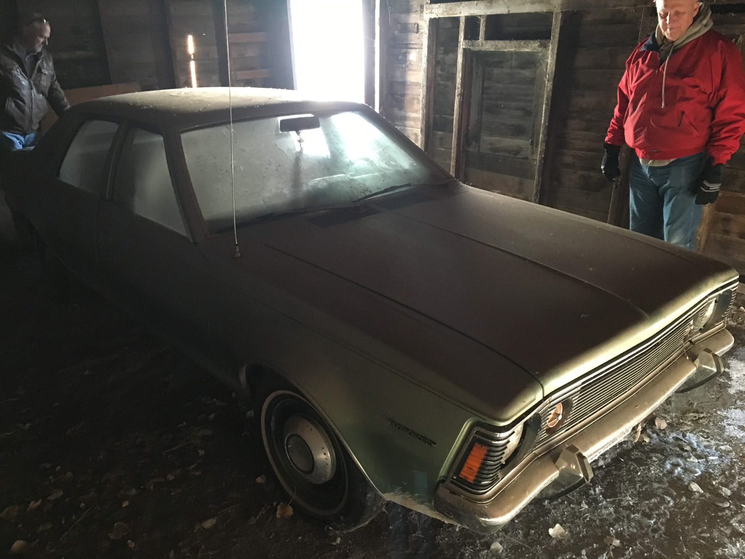Amc hornet derelict barn find car