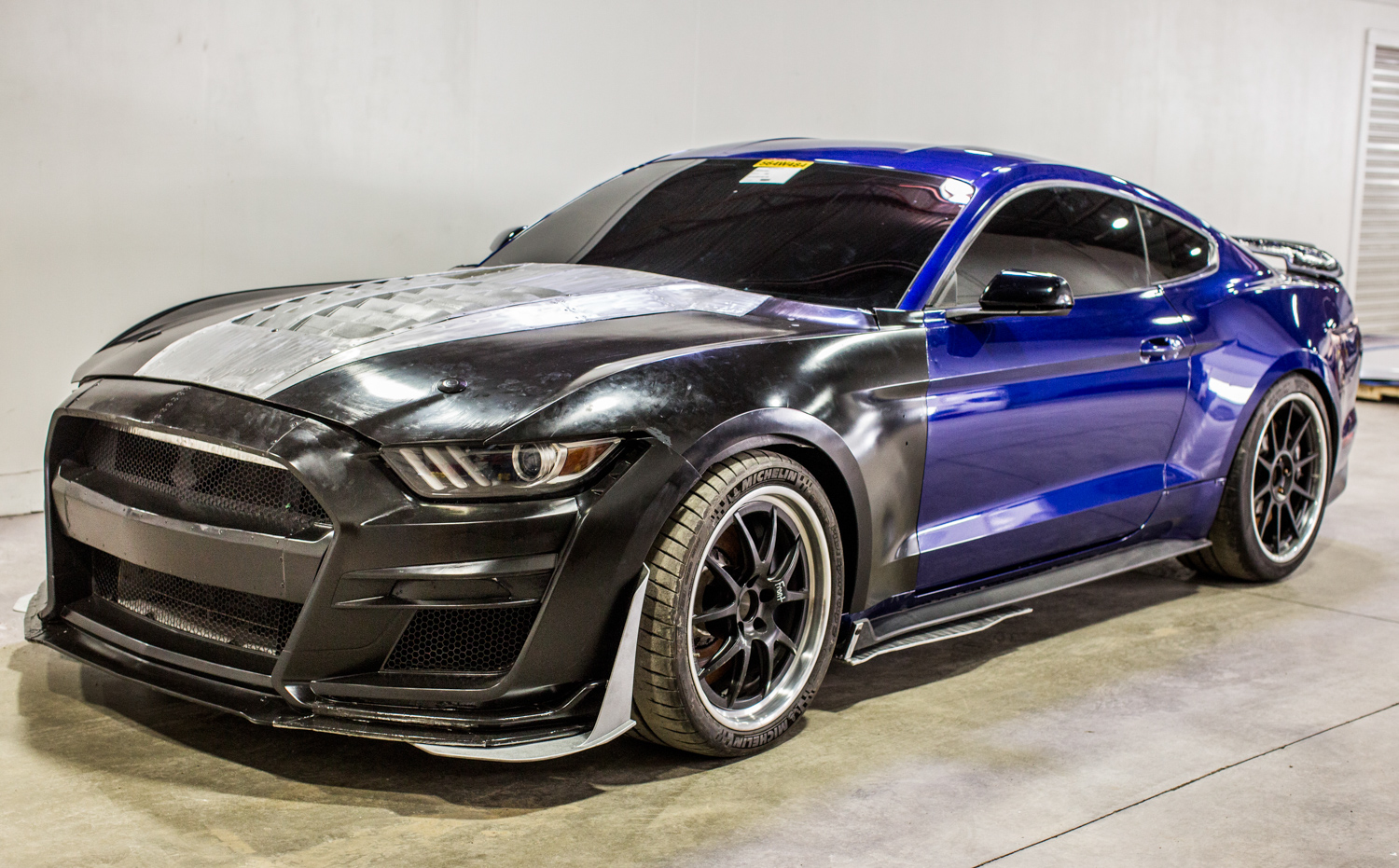 2020 Ford Mustang Shelby GT500 3/4 front