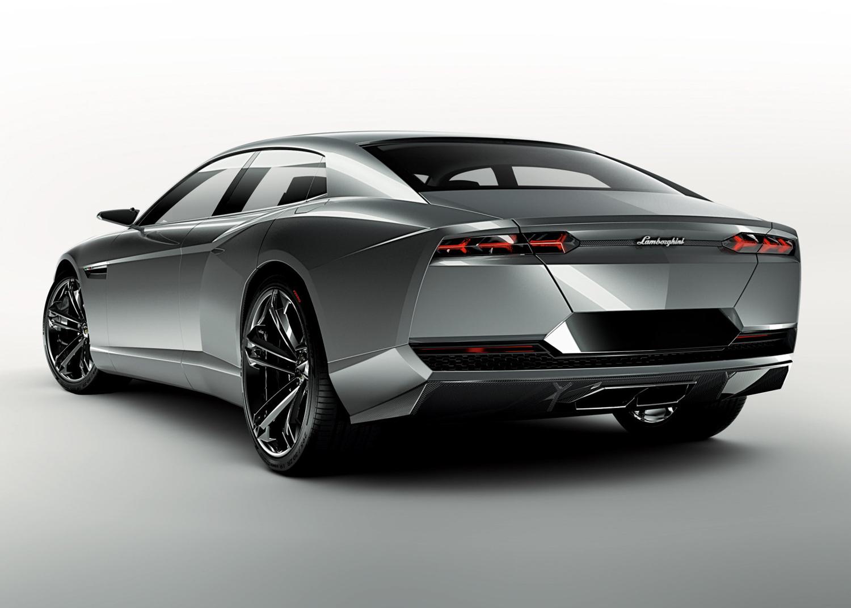 2008 Lamborghini Estoque concept rear 3/4