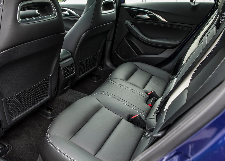 2017 Infinity QX30 rear seat