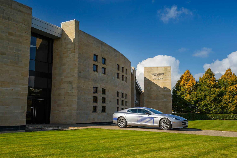 Aston Martin Rapide E profile