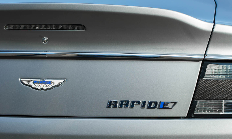 Aston Martin Rapide E rear